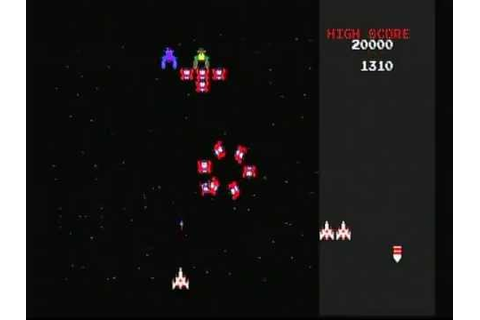 Namco Museum Vol. 1 Galaga (Playstation) Game Play - YouTube