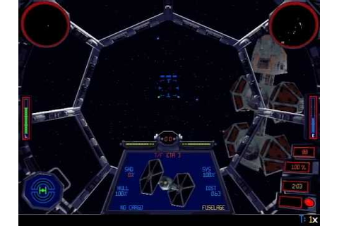Tie Fighter - PC Classics - Review - YouTube