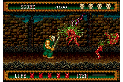 SEGA Horror Fest review: Splatterhouse 2 | SEGA Nerds