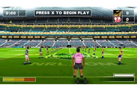 Rugby League Challenge | Download Game PSP PPSSPP PS3 Free