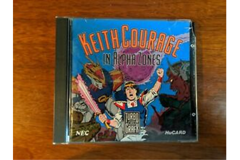 Keith Courage In Alpha Zones Game | eBay