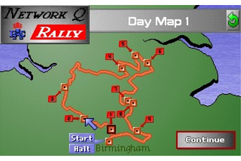 Network Q RAC Rally Game Download
