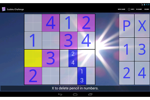 Sudoku Challenge HD - Android Apps on Google Play