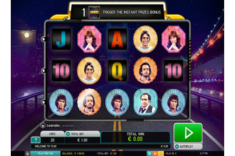 Leander Games Taxi | Play Leander Games Taxi Video Slots ...