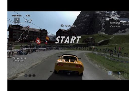 Gran Turismo HD Concept PlayStation 3 Gameplay - Lotus ...