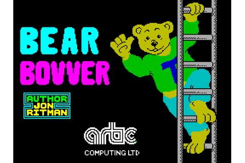 Bear Bovver (1983) by Artic Computing ZX Spectrum game