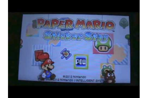 "Paper mario sticker star part 34 ""Game over..."" - YouTube"