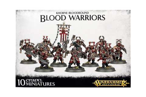 Khorne Bloodbound Blood Warriors - Forces Of Chaos