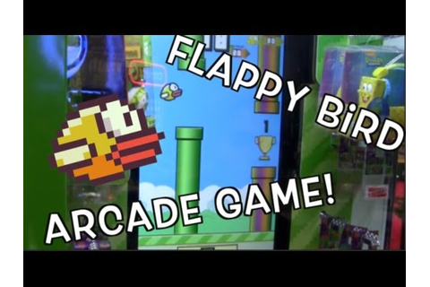 Flappy Bird Arcade Game WIN! | JOYSTICK - YouTube