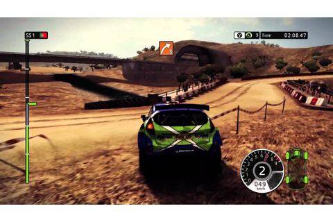 WRC FIA World Rally Championship 2 Xbox 360 gameplay - YouTube