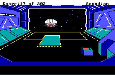 Скриншоты Space Quest: The Sarien Encounter на Old-Games.RU