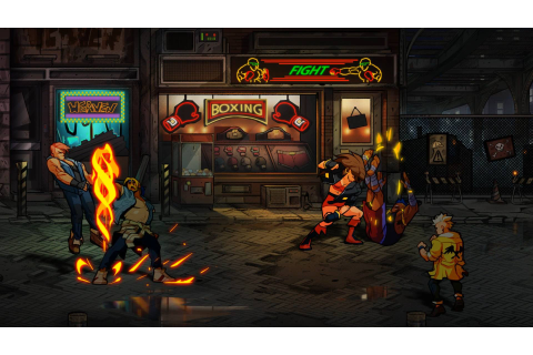 Streets of Rage 4 Showcased in New, Beautiful Screenshots