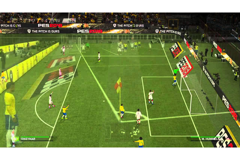 Pro Evolution Soccer 2016 - E3 2015 Gameplay Demo - YouTube