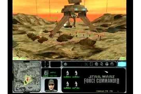 Star Wars Force Commander video game trailer - YouTube