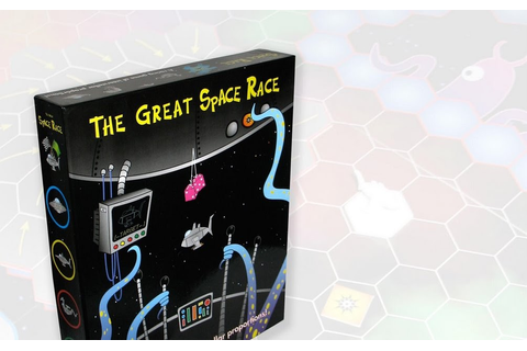 Drake's Flames: Board Game Review - The Great Space Race