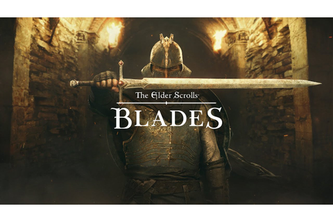 The Elder Scrolls: Blades Early Access Trailer - YouTube