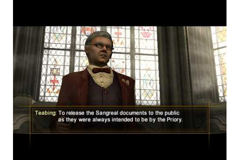 Da Vinci code game part 8/2 Westminster Abbey - YouTube
