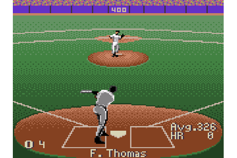 Frank Thomas Big Hurt Baseball Download Game | GameFabrique