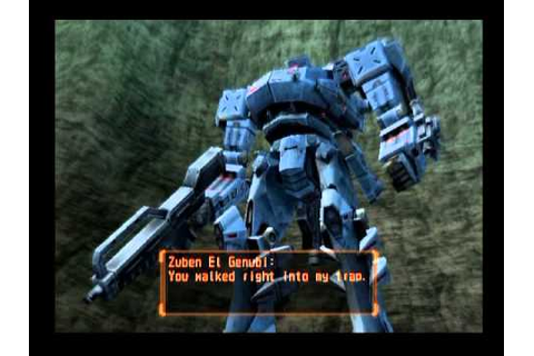 Armored Core: Last Raven ... (PS2) - YouTube