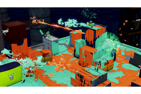 Nintendo's first true online shooter—Splatoon—is a hot ...