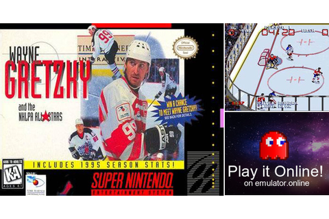 Play Wayne Gretzky and the NHLPA All-Stars on Super Nintendo