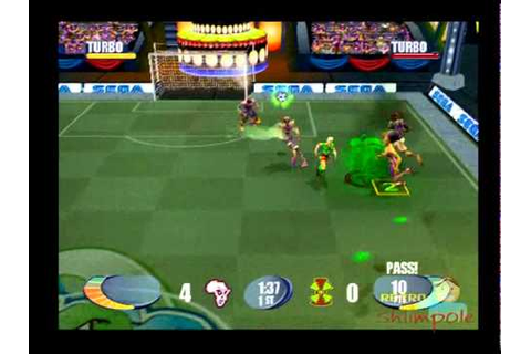 SEGA Soccer Slam PS2 gameplay ( 2 Player ) Playstation 2 ...