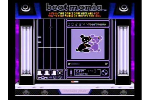 Beatmania GB for Game Boy (with super game boy) - YouTube