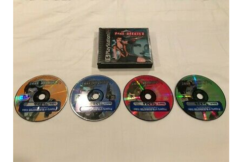 Fear Effect 2: Retro Helix (PlayStation 1, 2001) PS1 Game ...