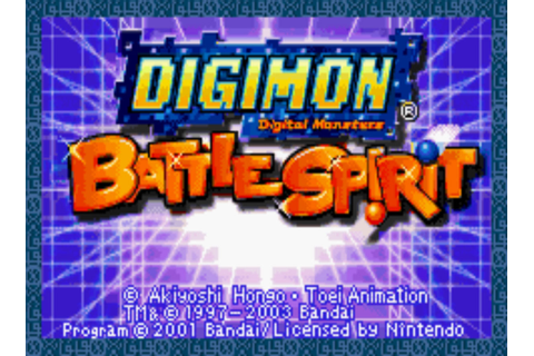 Digimon Battle Spirit - Wikipedia