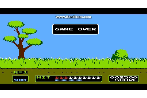 Duck Hunt Game Over - YouTube