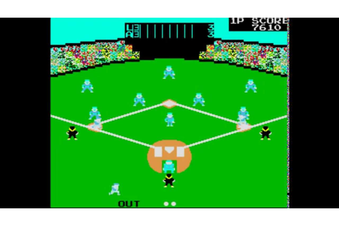 Champion Baseball (Arcade) - YouTube
