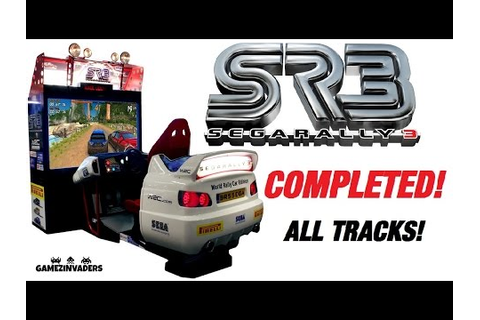 SEGA RALLY 3! Arcade Race Game COMPLETE! Play Through ...