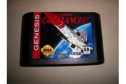 Sega Genesis Gleylancer Advanced Busterhawk NTSC English ...