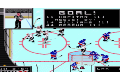 Commemorate NHL '94 With These Super Pixelated Hockey ...