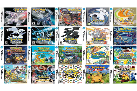 "Download all ""Pokemon"" Games for Nds [USA][1 link][Mega ..."