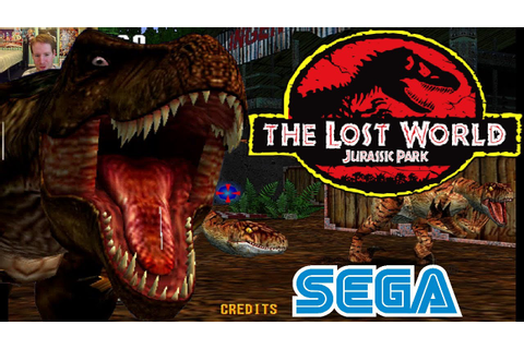 SOMETHING SURVIVED | Jurassic Park The Lost World Arcade ...