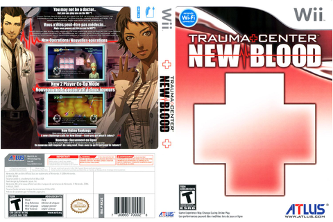 Games Covers: Trauma Center New Blood - Wii