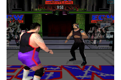 ECW Anarchy Rulz for Sony Playstation - The Video Games Museum