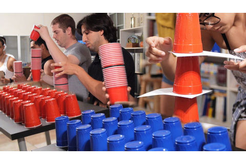 7 Fun and Cheap Games with Cups (DIY Minute to Win It ...