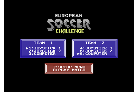 Download European Soccer Challenge - My Abandonware