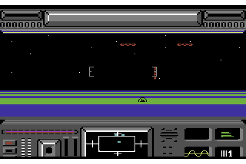 Star Raiders II (1987) C64 game