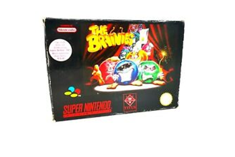 The Brainies Puzzle Game For Super Nintendo SNES World ...