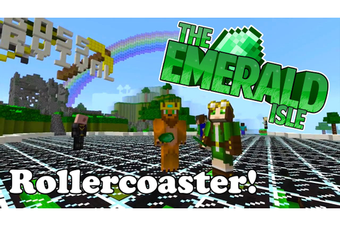 Minecraft - Emerald Isle - Rollercoaster Games! (Leppy's ...