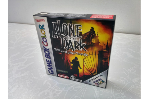 Alone in the Dark : The New Nightmare - Game Boy Color ...