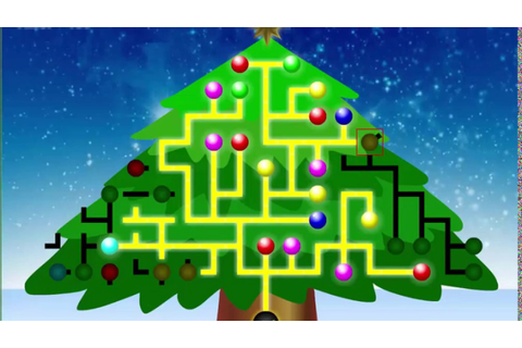 Christmas Game Tree Light Up Game For Kids - YouTube
