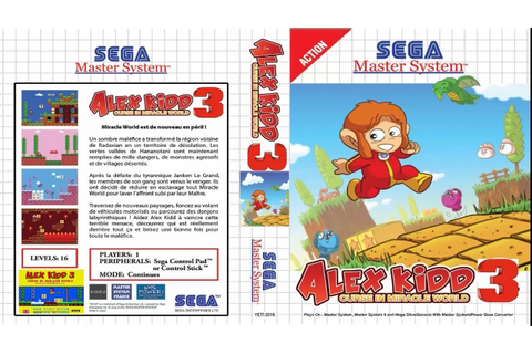 Alex Kidd 3 Curse in Miracle World - YouTube