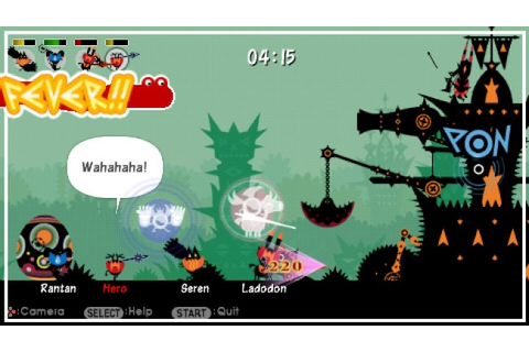 Patapon ISO PPSSPP Download