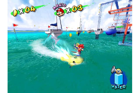 Super Mario Sunshine was the only game in the main series ...