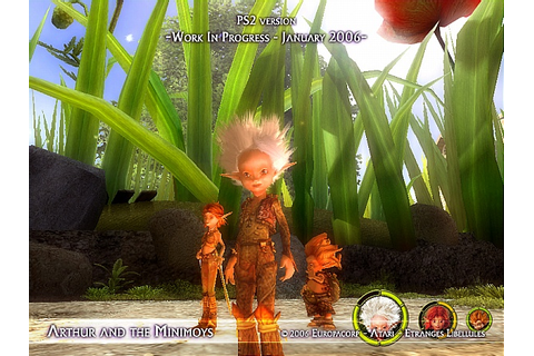 Arthur and the Invisibles Screenshot 4 - PlayStation 2 ...
