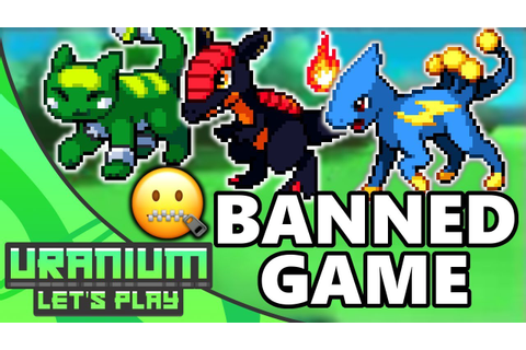 The BANNED Pokemon Game! Pokemon Uranium #1 - YouTube